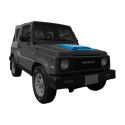 Nissan Patrol Y60 Fender Flares Set 2-Door.