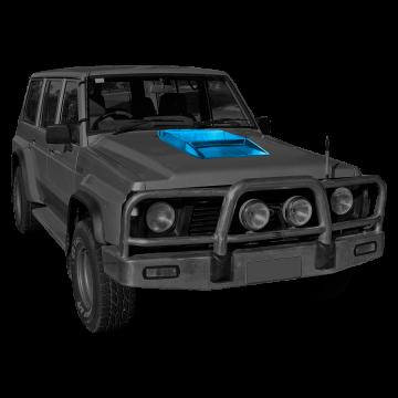 Nissan Patrol Y60 Hood Soop