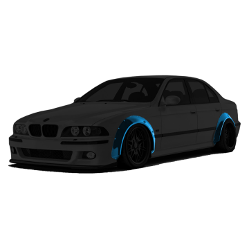 BMW E39 Fender Flares Set