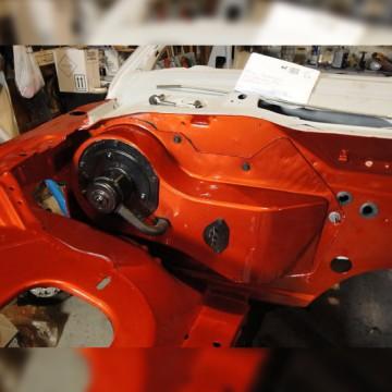 Subaru Impreza BlobEye Fender flares set. Karlton style.