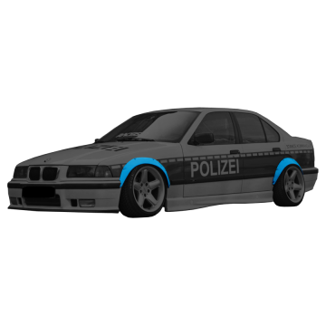 BMW E36 Fender Flares Set