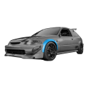 Subaru Legacy Fender flares set. Wide body kit.