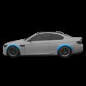 Subaru impreza wrx wide body kit sti