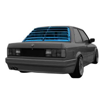BMW E30 Rear Window Louver