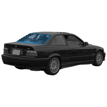 BMW E36 Rear Window Louver