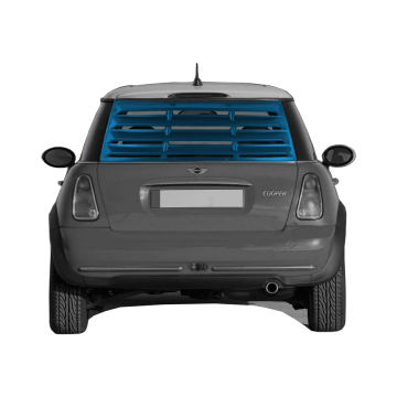 Mini Cooper Rear Window Louver