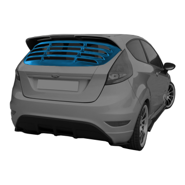 Ford Fiesta Rear Window Louver