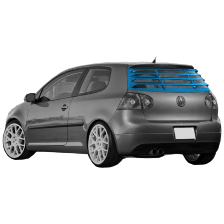 Volkswagen Golf MK5 Rear Window Louver