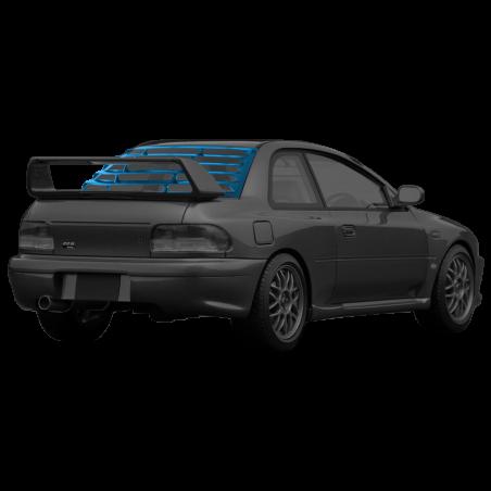 Subaru Impreza GC8 STI Rear Window Louver