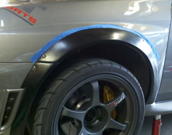 How To Install Universal Fender Flares